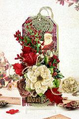 Victorian Christmas Tag