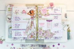 Week 30 2016 Planner Spread