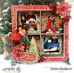 Scenes of Christmas Shadow Box