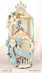 Gilded Lily Victorian Tag