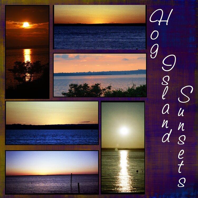Hog Island Sunsets