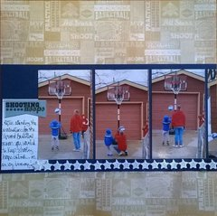 Shooting Hoops--left side
