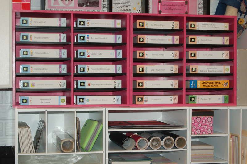 My Cricut Storage