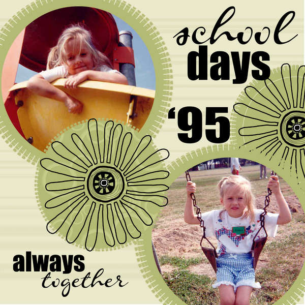 school days always together