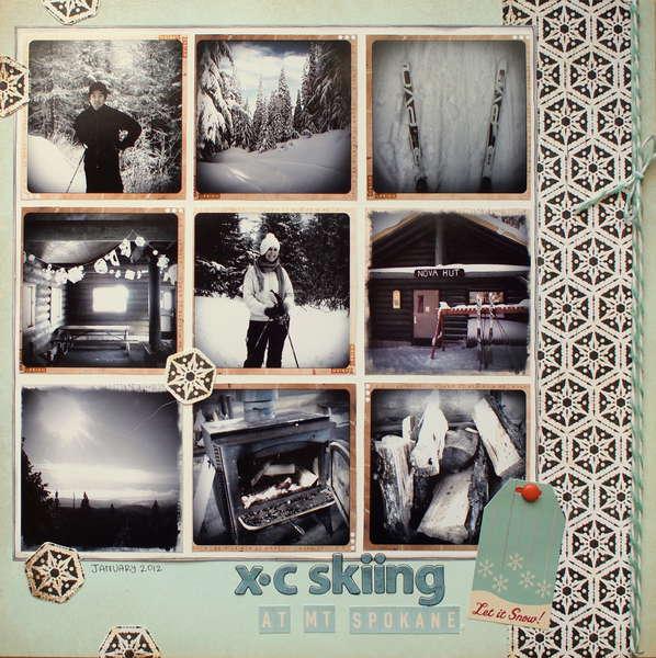 XC Skiing at Mt Spokane