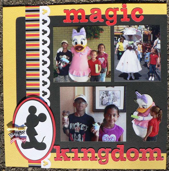 Day in Magic Kingdom