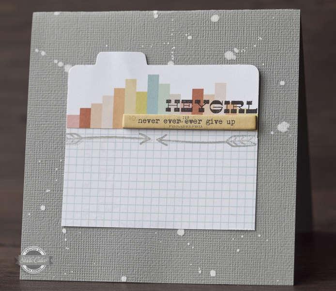 Hey Girl card *Studio Calico So Cal Kit*