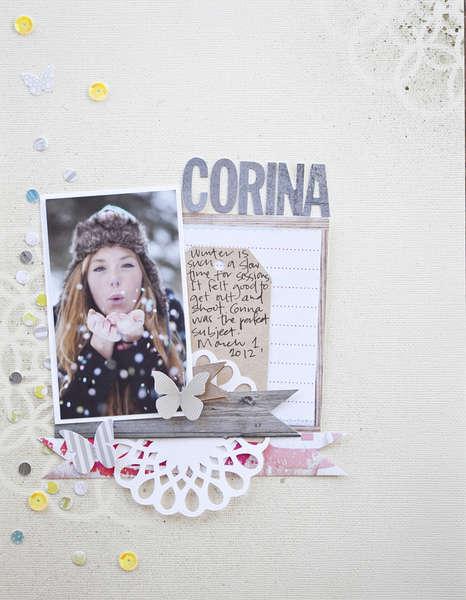 Corina Studio Calico April Kit