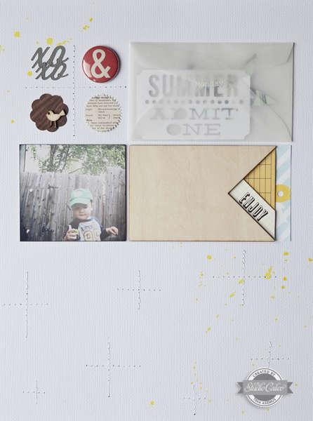 XOXO Summer *Studio Calico July Kit*