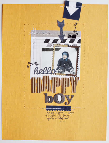 Studio Calico January Kit **Happy Boy**