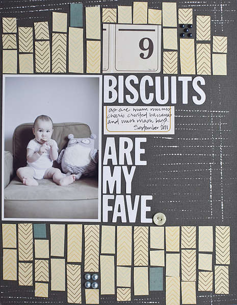 Studio Calico October: Biscuits are my Fave