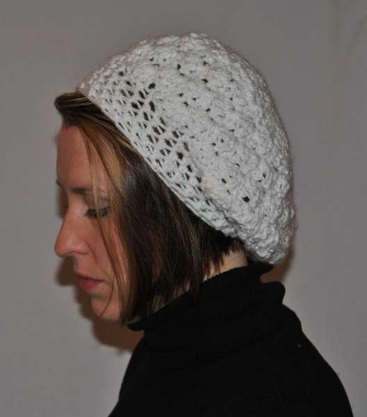White Shell Hat