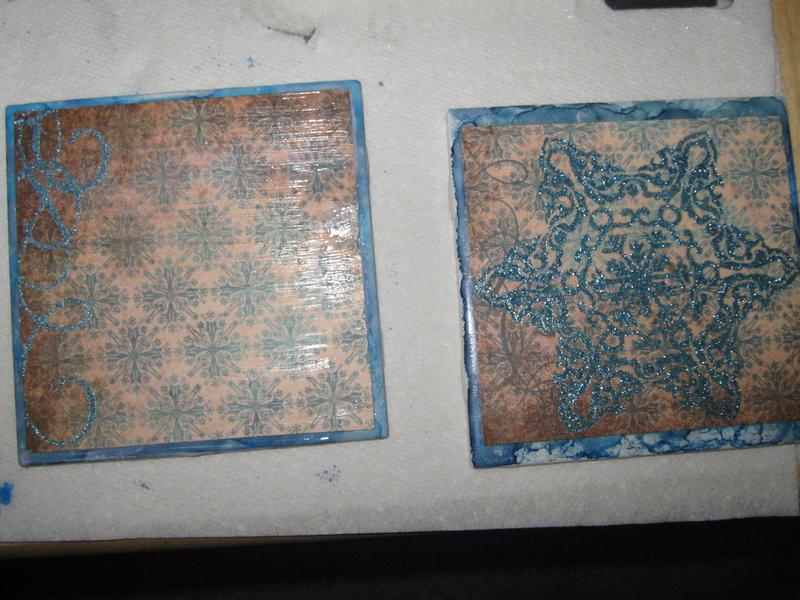 Tile Coasters for swap