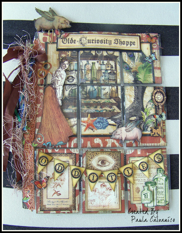Olde Curiosity Shoppe Pocketletter
