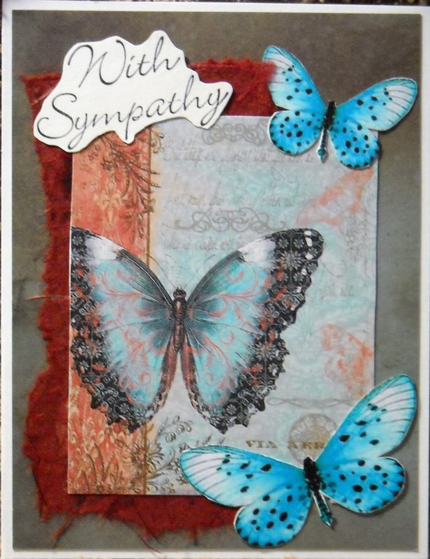 With Sympathy (Butterflies)