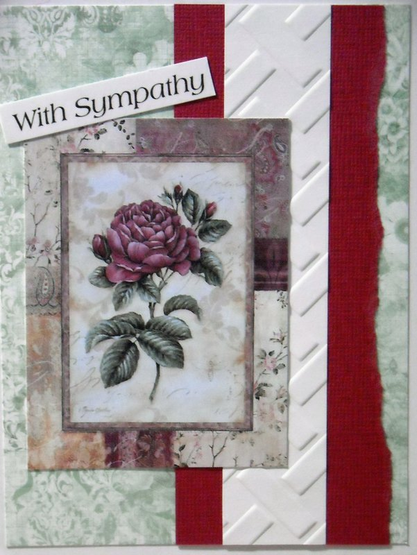 With Sympathy (Rose)