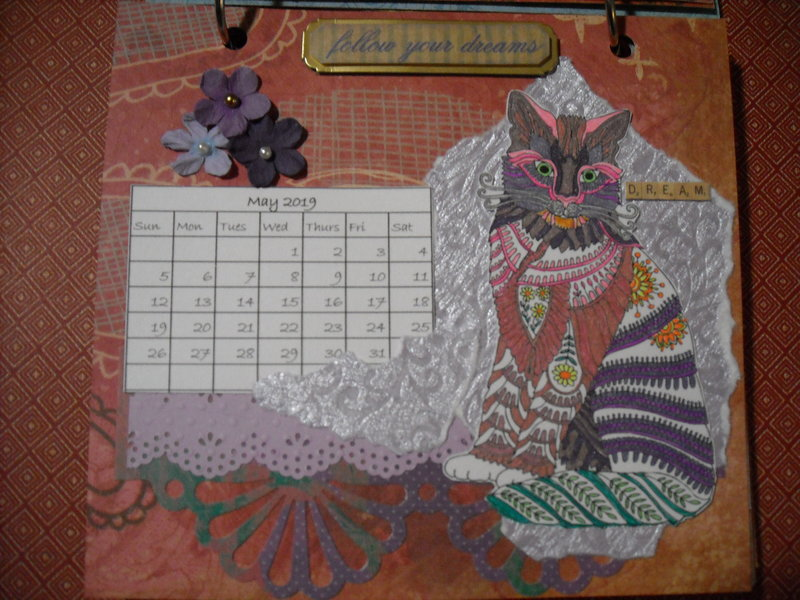 2019 Cat Calendar (May)