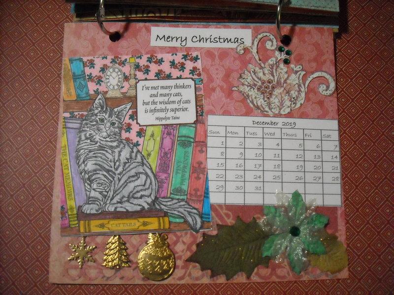 2019 Cat Calendar (December)
