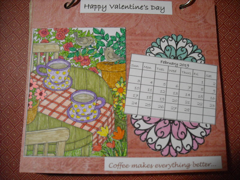 2019 Coffee Calendar (February)