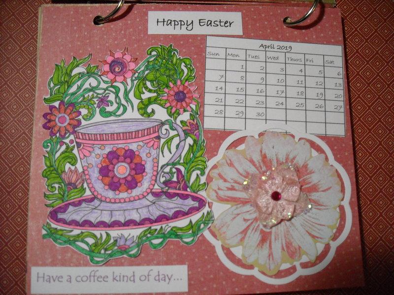 2019 Coffee Calendar (April)