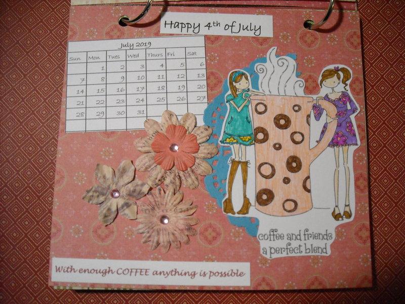 2019 Coffee Calendar (July)