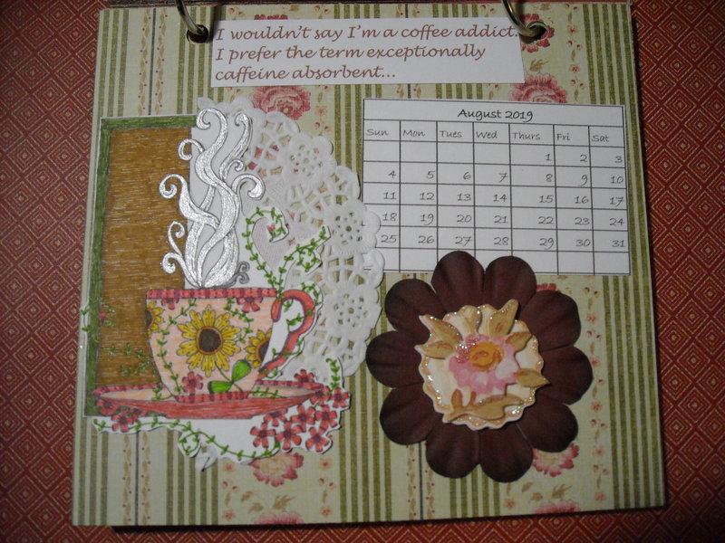 2019 Coffee Calendar (August)