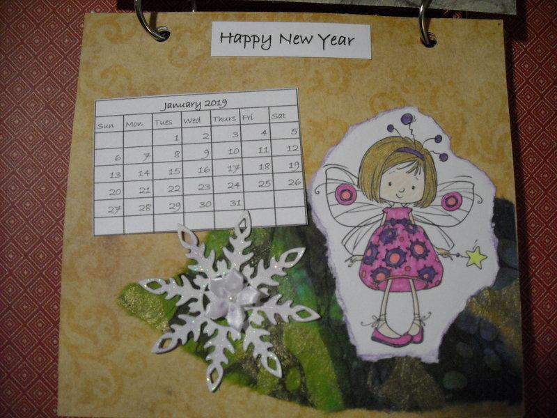 2019 Fairy Calendar (January)