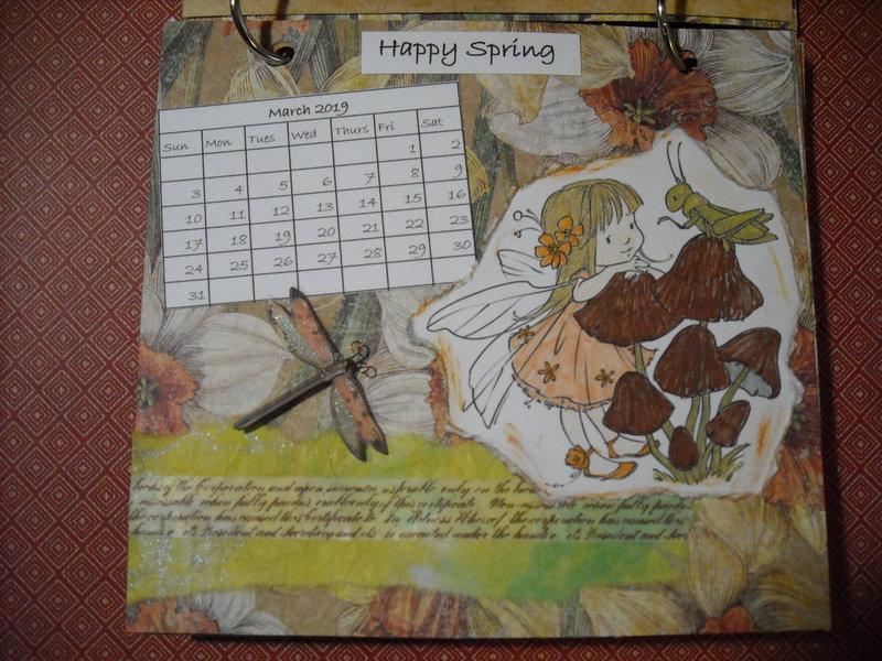 2019 Fairy Calendar (March)