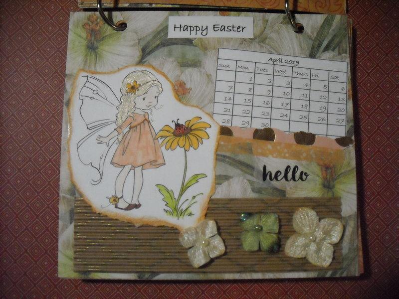 2019 Fairy Calendar (April)