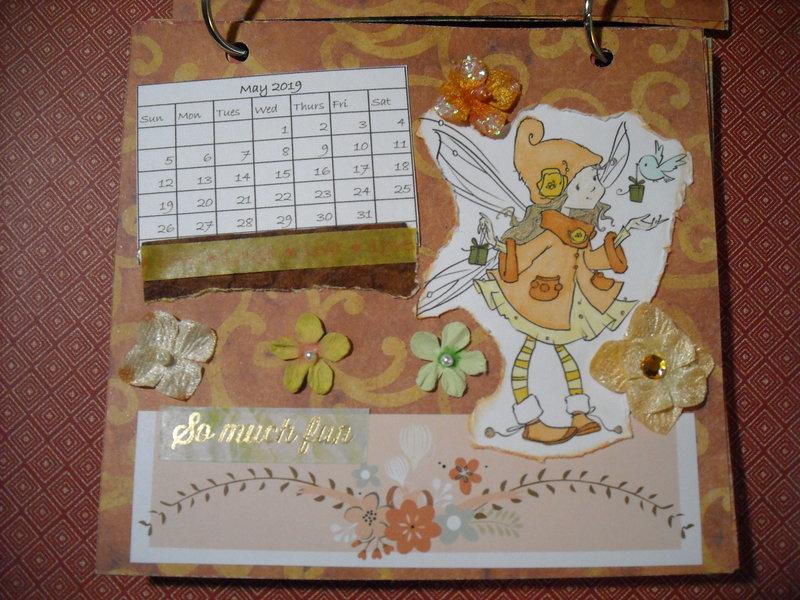 2019 Fairy Calendar (May)