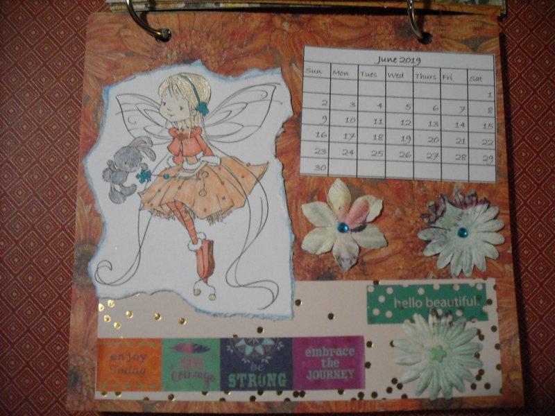 2019 Fairy Calendar (June)