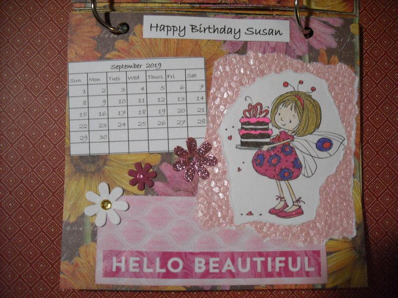 2019 Fairy Calendar (September)