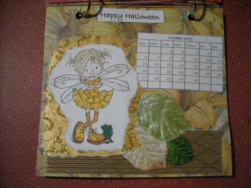2019 Fairy Calendar (October)