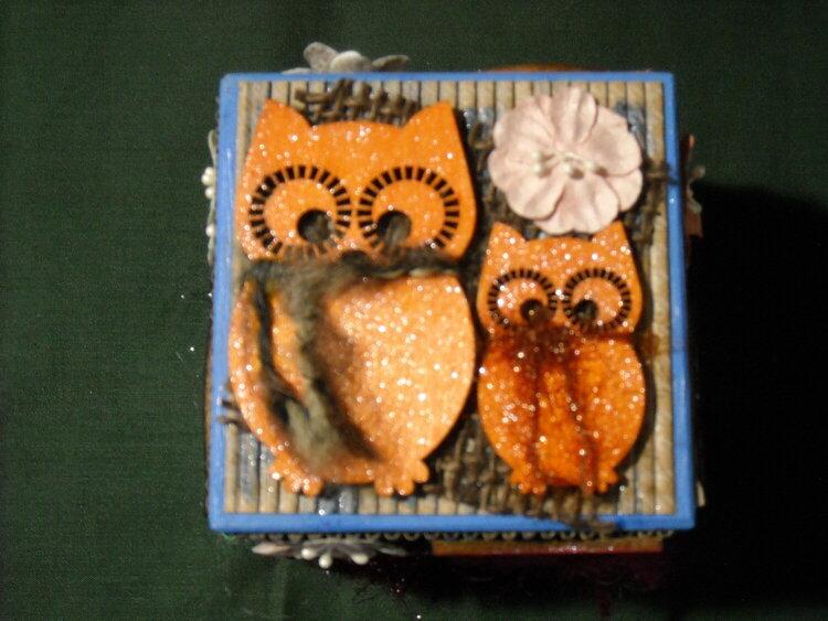 OWL Desk Paperweight (Top)