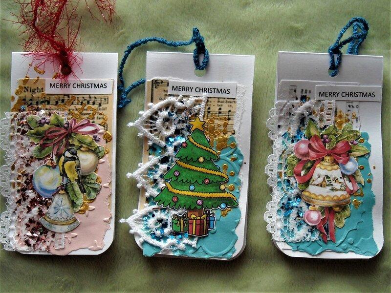 Christmas Gift Tags #1