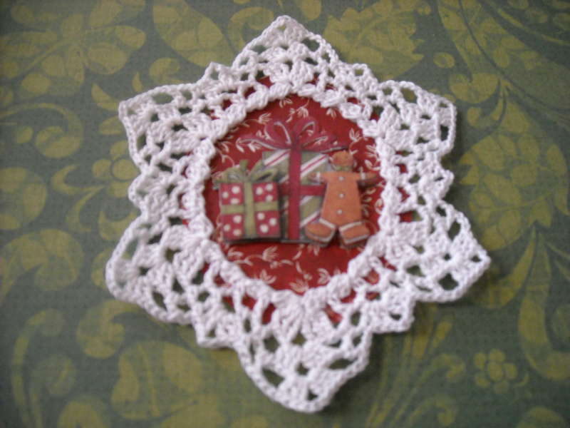Crochet Ornament #3 close~up