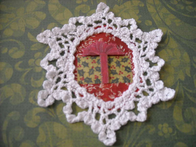 Crochet Ornament #1 close~up