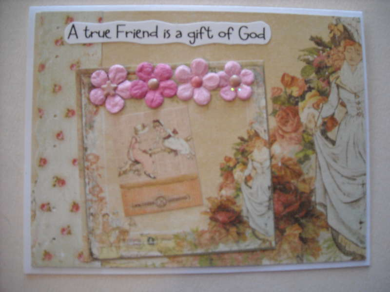 A true Friend is a gift of God