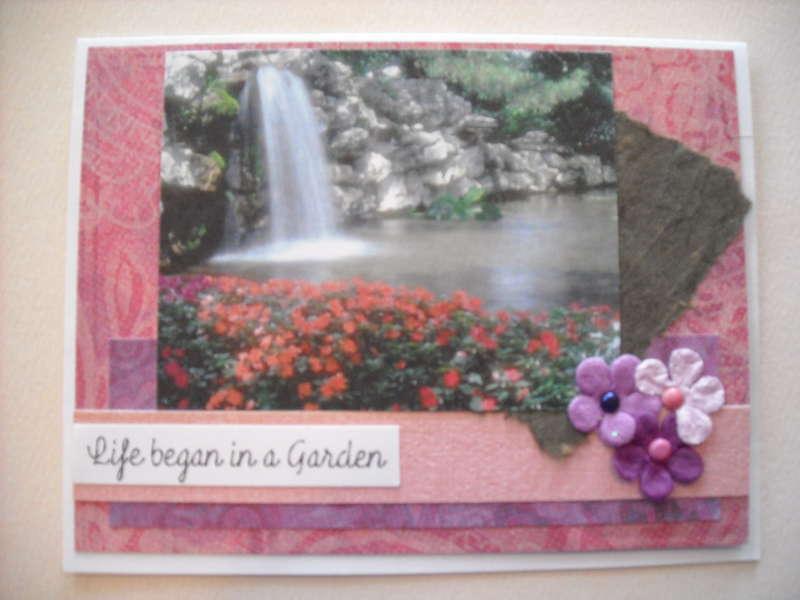 Life began is a Garden