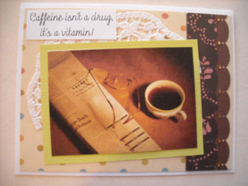 Caffeine isn't a drug it's a vitamin!