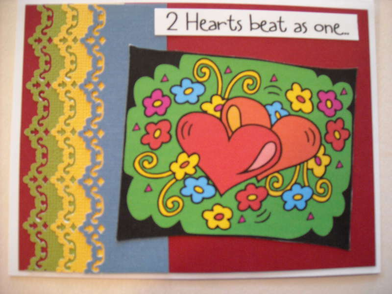 2 Hearts beat as one...