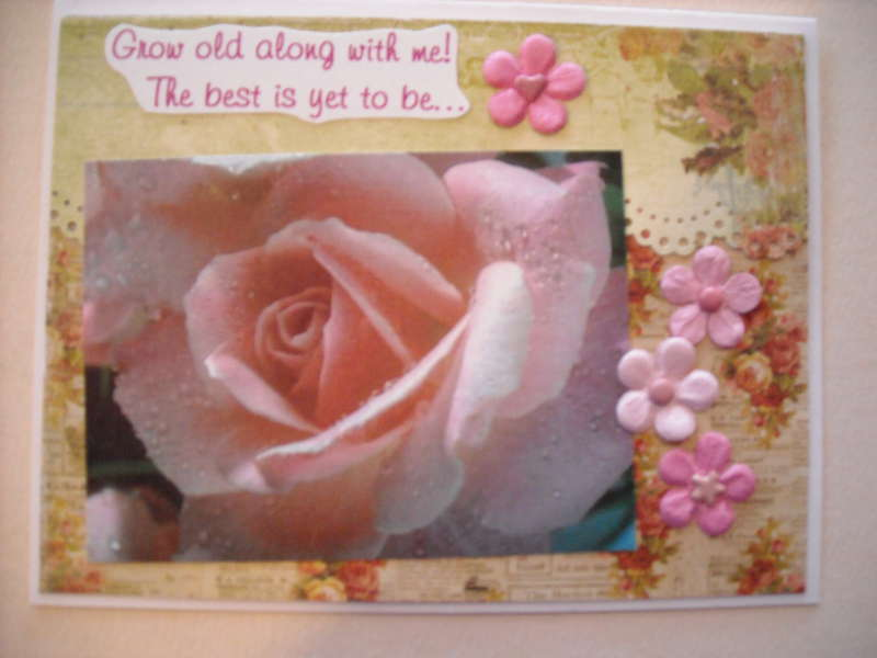 Grow old along with me! The best is yet to be...