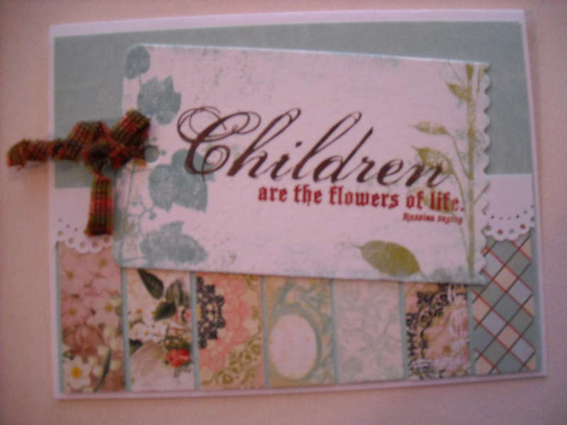 Children and the flowers of life.