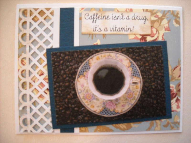 Caffine isn't a drug it's a vitamin!