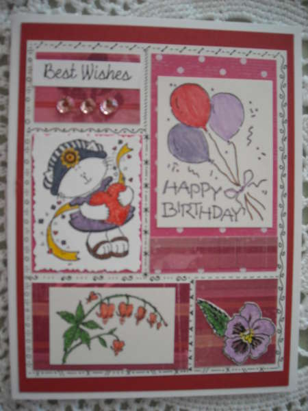 Best Wishes/Happy Birthday