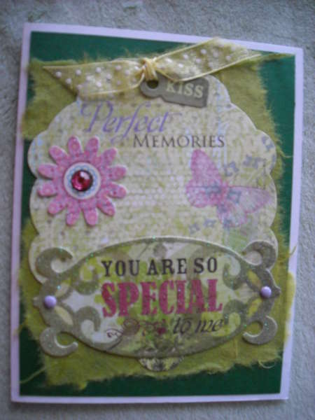 You Are So Special to me Tag Card