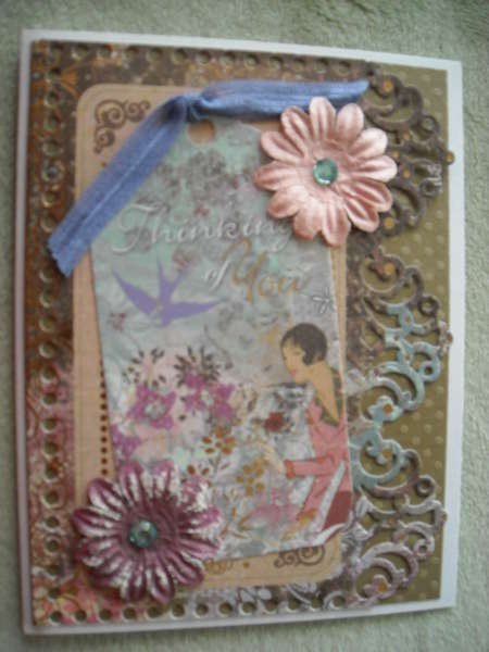 Thinking of You Tag Card