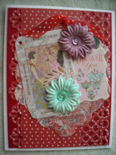 Collage Tag Card