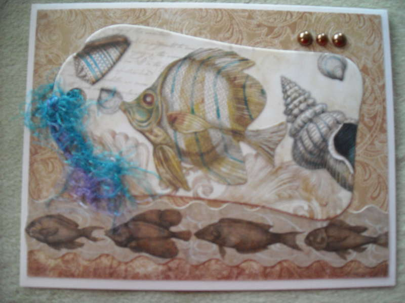 Fish Tag Card