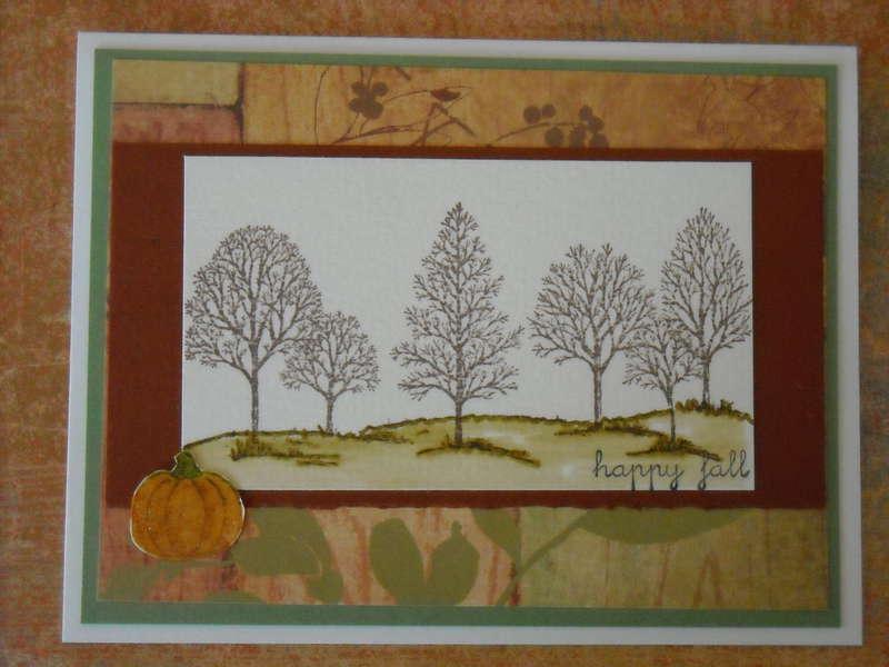 Happy Fall Bare Trees